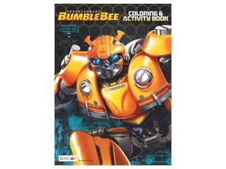 books & patterns: Bendon Jumbo Coloring & Activity Book Transformers 6