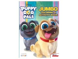 Bendon Jumbo Coloring & Activity Book Puppy Dog Pals