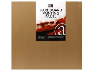 craft & hobbies: Art Advantage Hardboard Painting Panel 18 in. x 18 in.