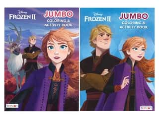 books & patterns: Bendon Jumbo Coloring & Activity Book Assorted Frozen 2