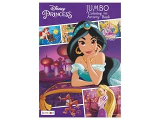 Bendon Jumbo Coloring & Activity Book Princess Jasmine
