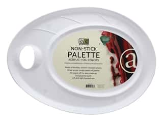 "Art Advantage Palette 17""x 12"" Non Stick Plastic"