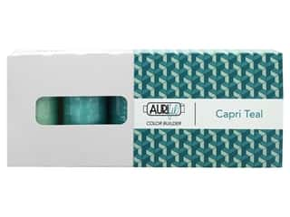 Aurifil 50 wt. Mako Cotton Color Builders - Capri Teal 3 pc.