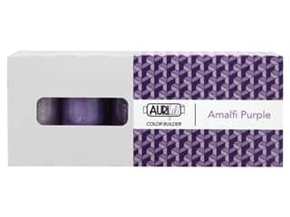 Aurifil 50 wt. Mako Cotton Color Builders - Amalfi Purple 3 pc.