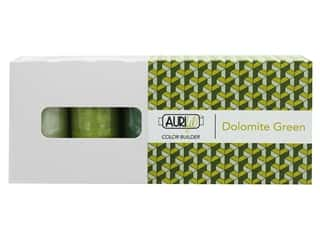 Aurifil 50 wt. Mako Cotton Color Builders - Dolomites Green 3 pc.