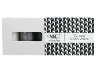 Aurifil Thread Cotton Mako 50 wt 1300 M Color Builders Carrara Black/White 3 pc