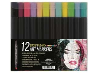 Pro Art Art Marker Set 12 pc. Basic Colors