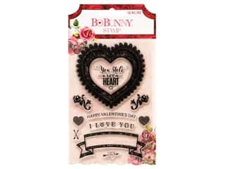 scrapbooking & paper crafts: Bo Bunny Collection Count The Ways Acrylic Stamps