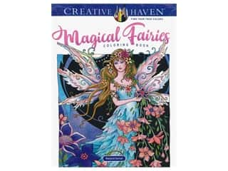 books & patterns: Dover Publications Creative Haven Magical Fairies Coloring Book