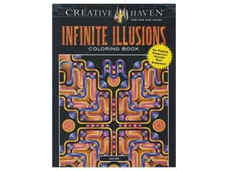 books & patterns: Dover Publications Creative Haven Infinite Illusions Coloring Book