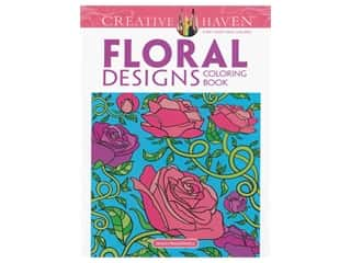 floral & garden: Dover Publications Creative Haven Floral Design Coloring Book