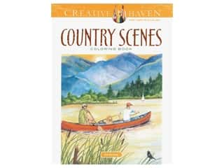 Dover Publications Creative Haven Country Scenes Coloring Book