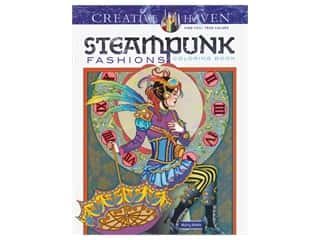 books & patterns: Dover Publications Creative Haven Steampunk Fashions Coloring Book