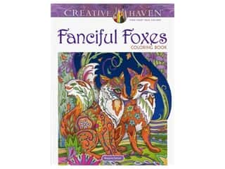 books & patterns: Dover Publications Creative Haven Fanciful Foxes Coloring Book
