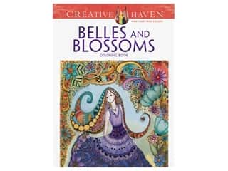 Dover Publications Creative Haven Belles And Blossoms Coloring Book
