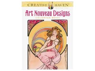 Dover Publications Creative Haven Art Nouveau Designs Coloring Book