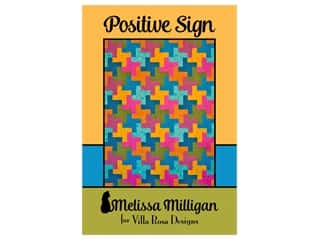 books & patterns: Villa Rosa Designs Melissa Milligan Positive Sign Pattern