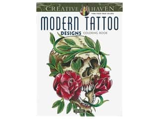 books & patterns: Dover Publications Creative Haven Modern Tattoo Designs Coloring Book