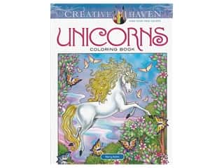 books & patterns: Dover Publications Creative Haven Unicorns Coloring Book