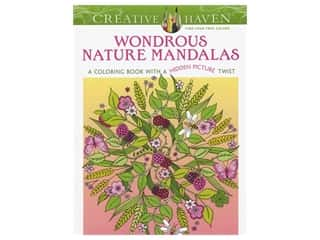 Dover Publications Creative Haven Wondrous Nature Mandalas Coloring Book