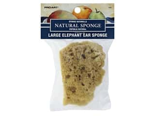 Pro Art Sponge Elephant Ear 3 in. - 4 in. Large