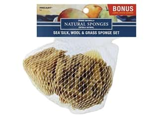 Pro Art Sponge Combo Set Silk Wool Grass