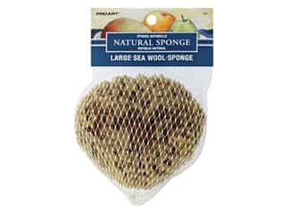 Pro Art Sponge Seawool 3 in. -4 in. Large