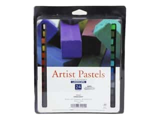 Pro Art Mark Artist Pastel Set Square 24 Color Landscape