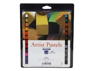 Pro Art Mark Artist Pastel Set Square 24 Color Portrait
