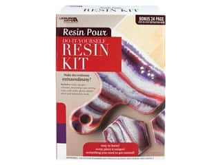 books & patterns: Leisure Arts Resin Pour Kit Red