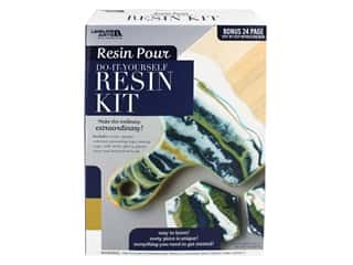 books & patterns: Leisure Arts Resin Pour Kit Blue