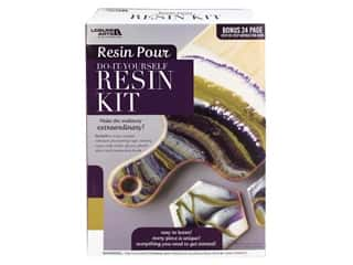 books & patterns: Leisure Arts Resin Pour Kit Purple