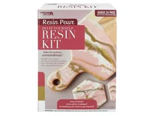 books & patterns: Leisure Arts Resin Pour Kit Blush
