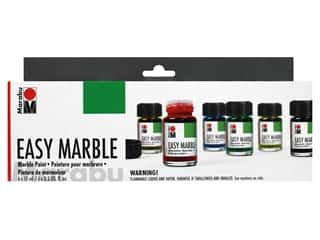craft & hobbies: Marabu Easy Marble Paint Starter Set