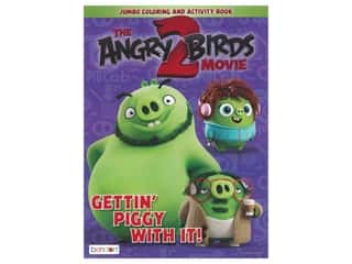 books & patterns: Bendon Jumbo Coloring & Activity Book Angry Birds 2