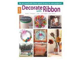 burlap: Leisure Arts Decorate With Ribbon Book