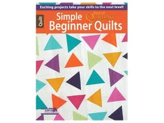 books & patterns: Leisure Arts Simple Beginner Quilts Book