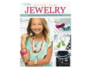 beading & jewelry making supplies: Leisure Arts Quick Fun Jewelry Book