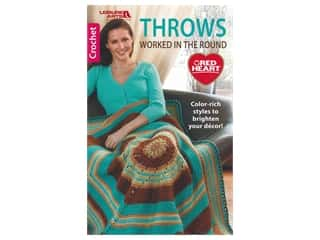 Leisure Arts Throws Worked In The Round Book