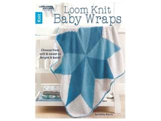Leisure Arts Loom Knit Baby Wraps Book