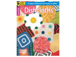 Leisure Arts Crochet Dishcloths Book