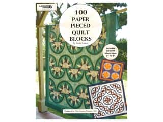 Leisure Arts 100 Paper Pieced Quilt Blocks CD & Book