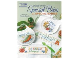Leisure Arts Cross Stitch Special Bibs for Special Babies Book