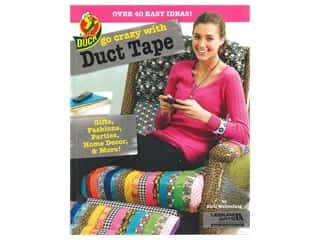 books & patterns: Leisure Arts Go Crazy With Duct Tape Book