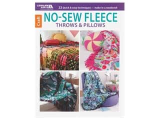 books & patterns: Leisure Arts No Sew Fleece Throws & Pillows Book