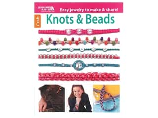 beading & jewelry making supplies: Leisure Arts Knots & Beads Book