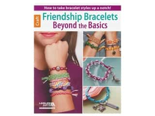beading & jewelry making supplies: Leisure Arts Friendship Bracelets Beyond Basics Book