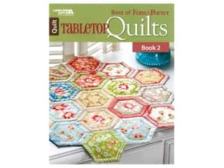 Leisure Arts Best Of Fons & Porter Tabletop Quilt Book 2