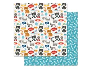 Echo Park Collection I Love My Cat Paper 12 in. x 12 in. Meow (25 pieces)
