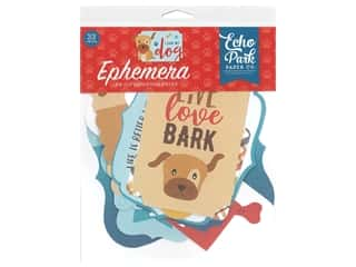 Echo Park Collection I Love My Dog Ephemera